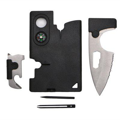 10 in 1 Multi Purpose Survival Tools Pocket Credit Card
