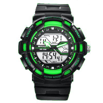 SANDA Lovers Fashion Multi-Purpose Sports Waterproof LED Electronic Watches