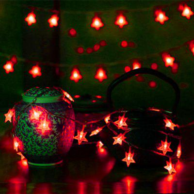 10m 100 LEDs Star String Lights voor Holiday Wedding Party Christmas Tree EU / AU