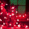 10m 100 LEDs Star String Lights voor Holiday Wedding Party Christmas Tree EU / AU - ROOD