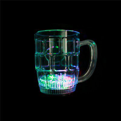 LED colorido Flash Big Beer Glass (2 PCS)