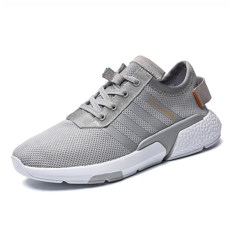 Men Mesh Breathable Light Runing Casual Fashion Sneaker Shoes ...
