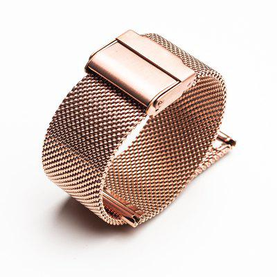 12/14/18/20MM Fashion Milanese Loop Stainless Steel Wrist Watch Band Strap