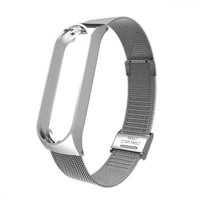 Ultrathin Metal WristBand Strap for Xiaomi Mi Band 3 Smart Bracelet