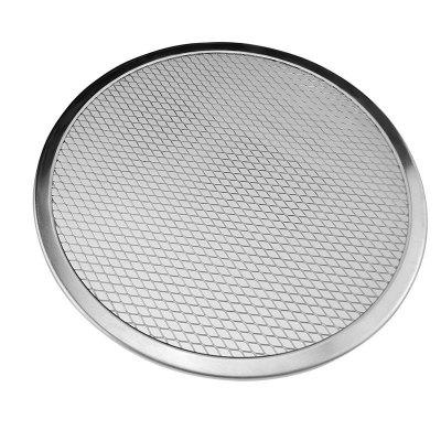 Red de aluminio Mesh Pizza Pizza Horno Bandeja Red