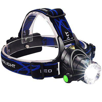 Waterproof Head Torch Flashlight Lamp Fishing Hunting Light