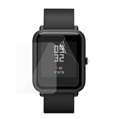 JOFLO 2PCS TPU Soft Screen Protector Film pentru AMAZFIT Smartwatch