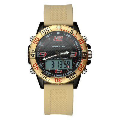 SANDA Sport Watch Men Military Luxury Digital Electronic Led Digital Watches