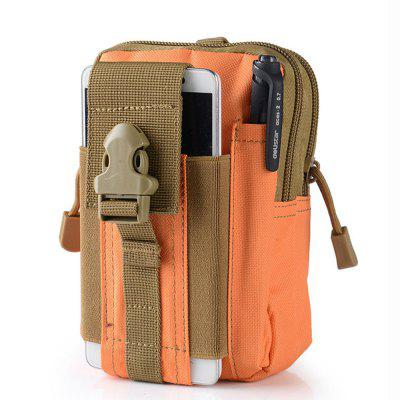 Tactical Outdoor Sports / 6 Male 5.5 Inch Waterproof Cell Phone Bag Multifunctio
