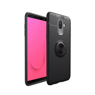 Cover Case for Samsung Galaxy J8 2018Ring 360 Stealth Kickstand Degree Rotating