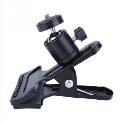 Universal Camera Photography Metal Clip Clamp Holder Mount with Standard