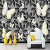 Art Deco Pattern 3D Home Decoration Vintage Modern Wall Covering Canvas Material - WIELO