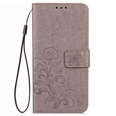 Leather Four Leaf Clover With Flip Wallet Case for Xiaomi Redmi 5A