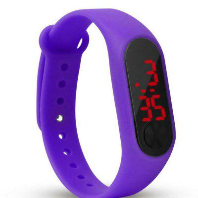 Refurbished New Fashion Candy Color Children LED Electronic Watch