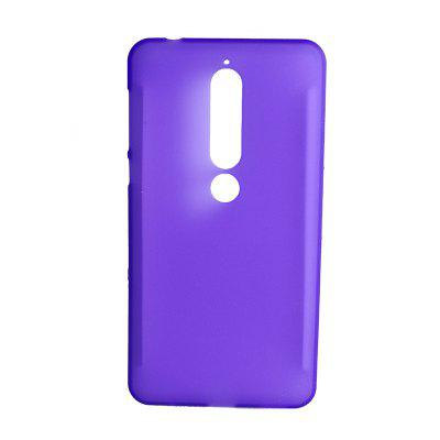 For NOKIA 6 2018 Soft Rubber Matte Pudding Phone Case