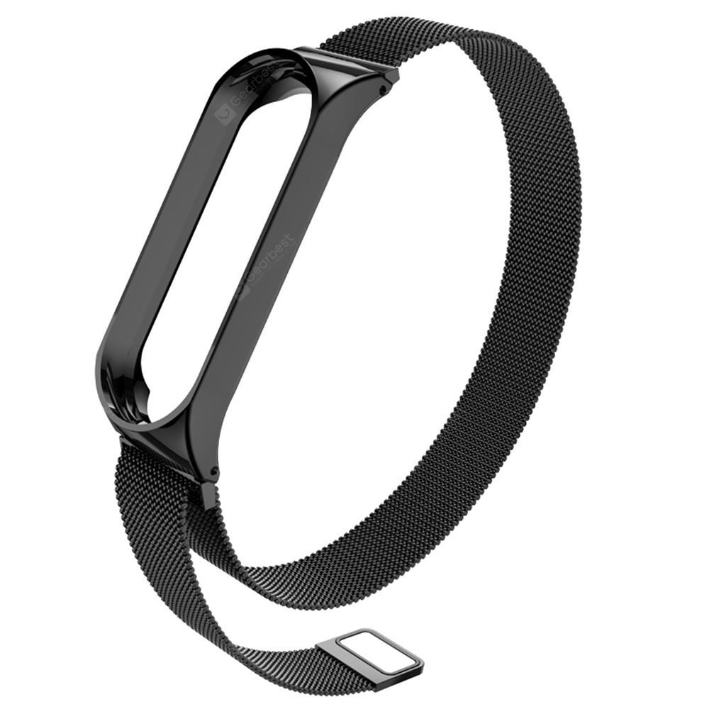 Ultrathin Stainless Steel Bracelet Wristband for Xiaomi Mi Band 3