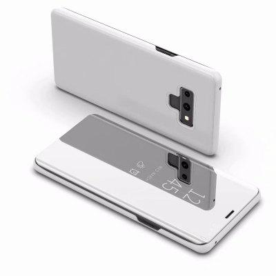Custodia Cover per Samsung Galaxy Note 9 Luxury Mirror Clear View Flip Stand in pelle