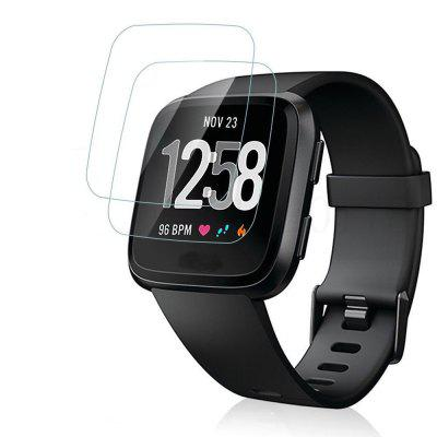 2PCS 0.26mm Tempered Glass Screen Protector for Fitbit Versa Smart Watch