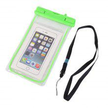 Luminous PVC Phone Touch Screen Mobile Phone Transparent Outdoor Bag