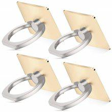 4 PCS Cell Phone Ring Holder Stand Metal