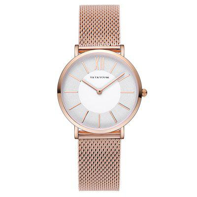 VA-3602W Stainless Steel Band Thin design Women's Fashion Watch