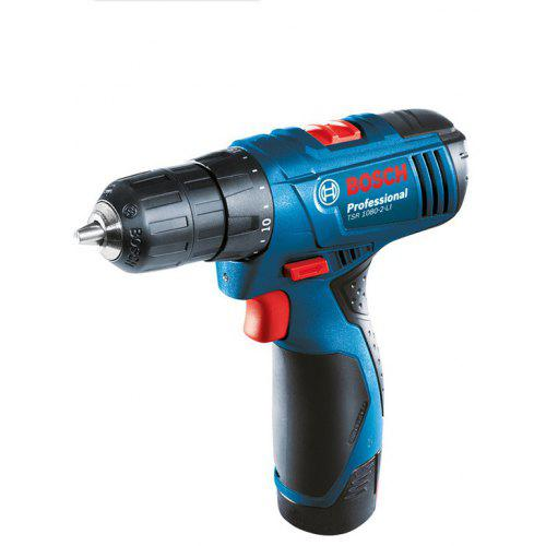 BOSCH TSR 1080 - 2 - LI ( 1B ) 10mm 10.8V Rechargeable Cordless Electric Drill - PEACOCK BLUE