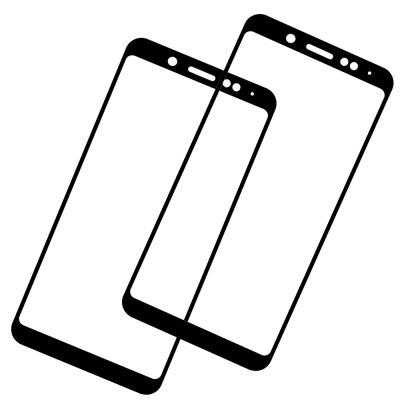 2PCS Full Cover Tempered Glass 9H Screen Protector for Xiaomi Redmi Note 5 Pro