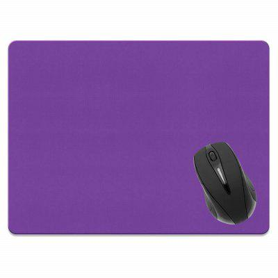 Non-Slip Rectangle Solid Purple Mouse Pad do Home Office i Gaming Desk