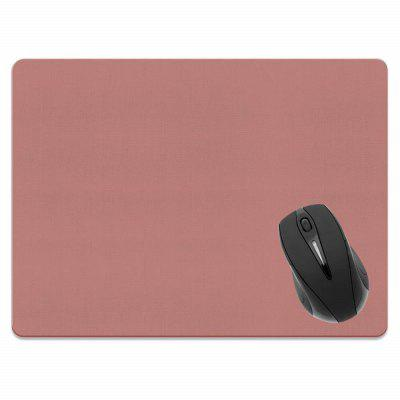 Non-Slip Rectangle Solid Light Red Mouse Pad do Home Office i Gaming Desk