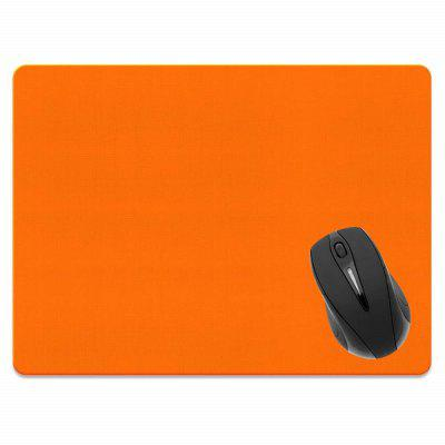 все цены на Non-Slip Rectangle Solid Orange Mouse Pad for Home Office and Gaming Desk онлайн