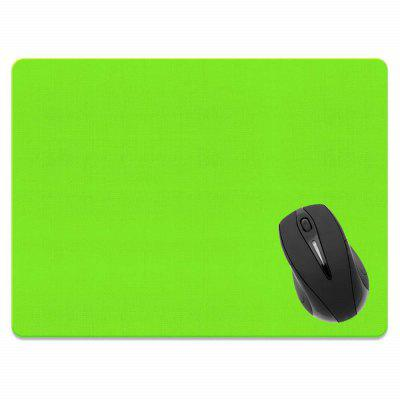 все цены на Non-Slip Rectangle Solid Green Mouse Pad for Home Office and Gaming Desk онлайн
