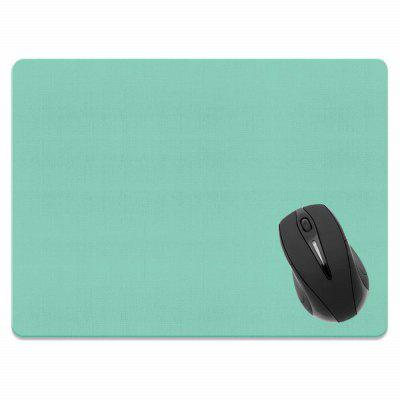 Non-Slip Rectangle Solid Light Green Mouse Pad do Home Office i Gaming Desk