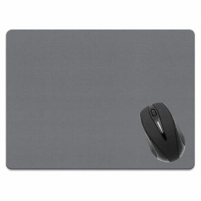 все цены на Non-Slip Rectangle Solid Gray Mouse Pad for Home Office and Gaming Desk онлайн
