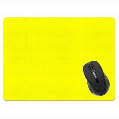 все цены на Non-Slip Rectangle Solid Yellow Mouse Pad for Home Office and Gaming Desk онлайн