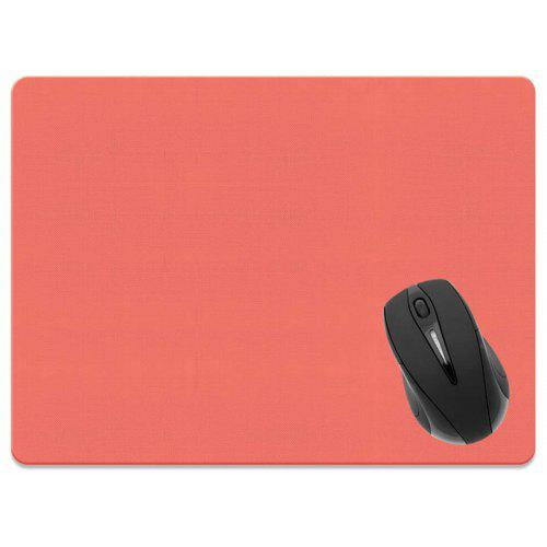 Non-SlipPC Laptop Gaming Mouse Pad Computer Mice Pad withWrist Rest Rose Red