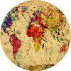 Non-Slip Rectangle World Map Mouse Pad for Home Office and Gaming Desk - MULTI