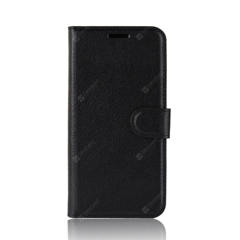 buy popular 9a4e8 2e006 Leather Wallet Flip Case for BlackBerry Keyone 2 with Card Slot Holder
