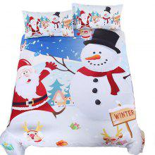 New High Quality Christmas Bedding Set of Three