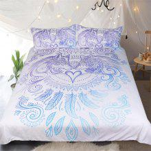 New High Quality Double Wolf Bedding Set of Three