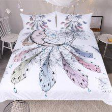 New High Quality Feather Bedding Three Piece Set
