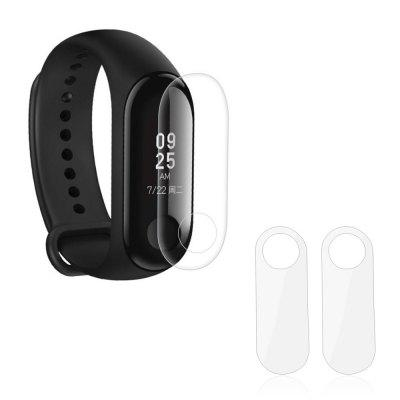 2 STKS Soft HD Screen Protector Film voor Xiaomi Mi Band 3 Smart Watch