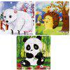 Wooden Puzzle Jigsaw  Toys for Children 4PCS - MULTI-A