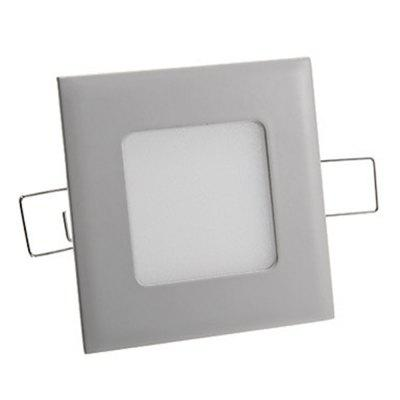 SZKINSTON 3W LED AC 85 - 265V Luxury Highlight Warm White Ceiling Panel Lights