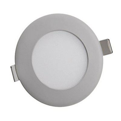 SZKINSTON 4W LED AC 85 - 265V Luxury Highlight Cold White Ceiling Panel Lights