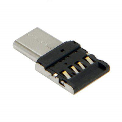 Ultra Mini Type-C- 2.0 OTG Adapter for Cell Phone Tablet /USB Cable