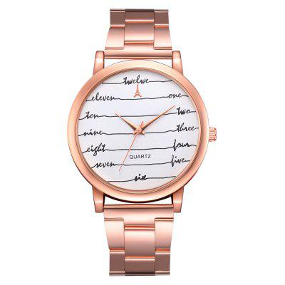 GAIETY G109 Moda Classic Women Luxury Casual Watch Mujeres - MXN ... 624e5d586c3c