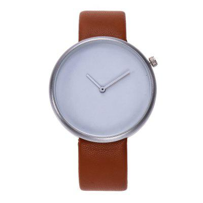 V5 Women Vintage Leather Simple Casual Casual Quarzo Watch