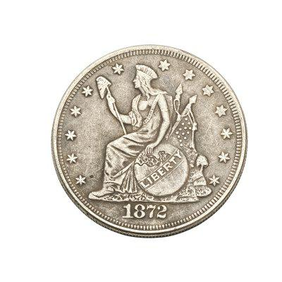 Monete di rame Antique Foreign Silver Dollar 1872