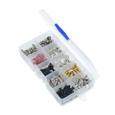 228pcs PC Computer DIY Screws Kit Set Assortment Case for Motherboard Fan