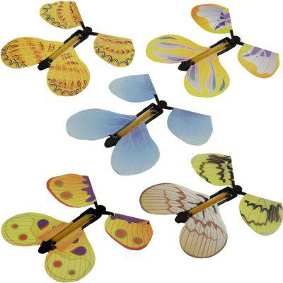Can Fly Butterfly New Special Children Magic Prop Toy 5PCS